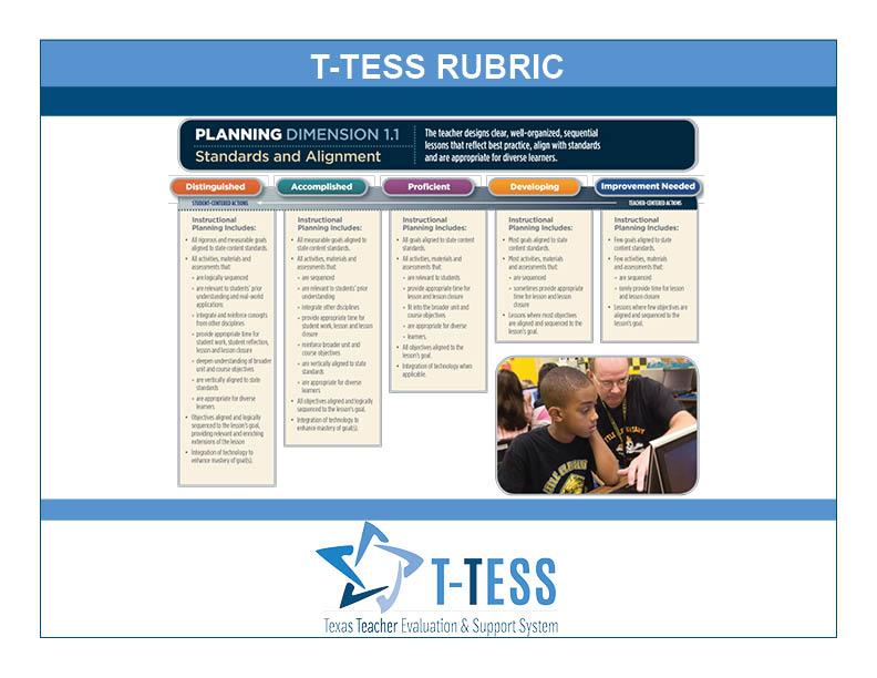 T-TESS Rubric